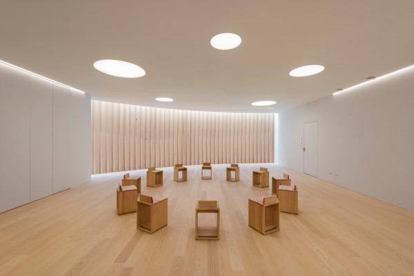 Ein Ort Mit Besonderer Atmosphäre Und Kreativer Architektur: Der Neue Raum  Der Stille Im Ravensburger Berufsbildungswerk Der Stiftung Liebenau.